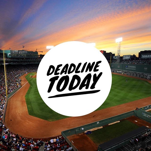 Today is your last chance to purchase tickets to see the Red Sox next Friday 4/27 and and support @michaeljfoxorg and @teamfoxmjff! Link in Bio!
