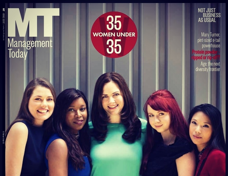 35 under 35 Women, The Times, Management Today