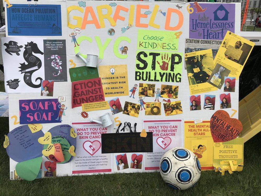 Garfield Elementary School Service Learning