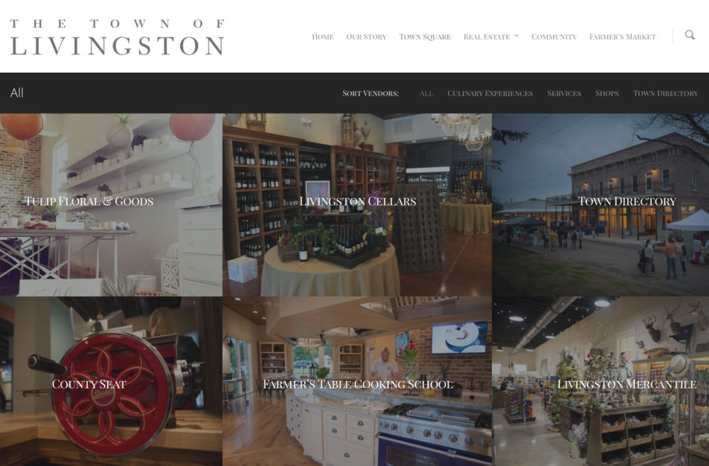 The Town of Livingston