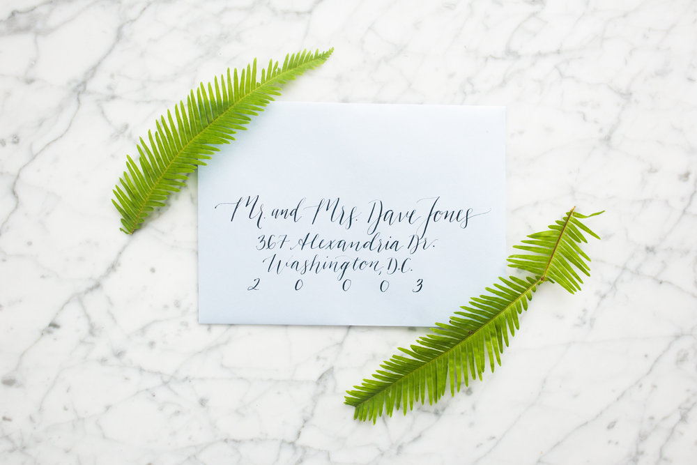 timeless - give your invitations a classic + elegant first look