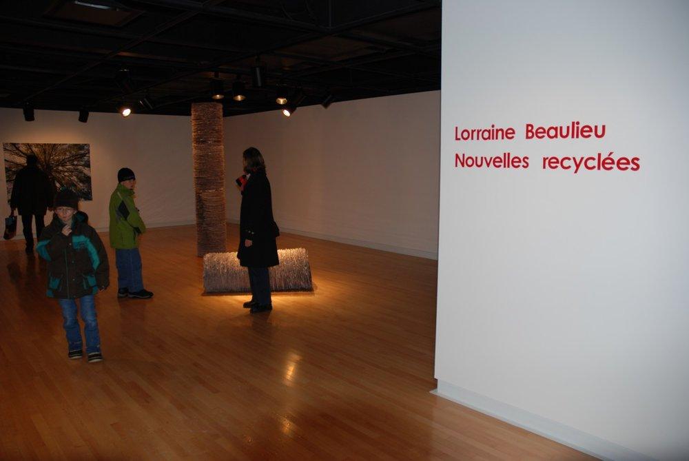 «Nouvelles recyclées» 2009