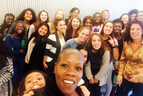 FierceWomen with Providence high school students at our Brown University launch