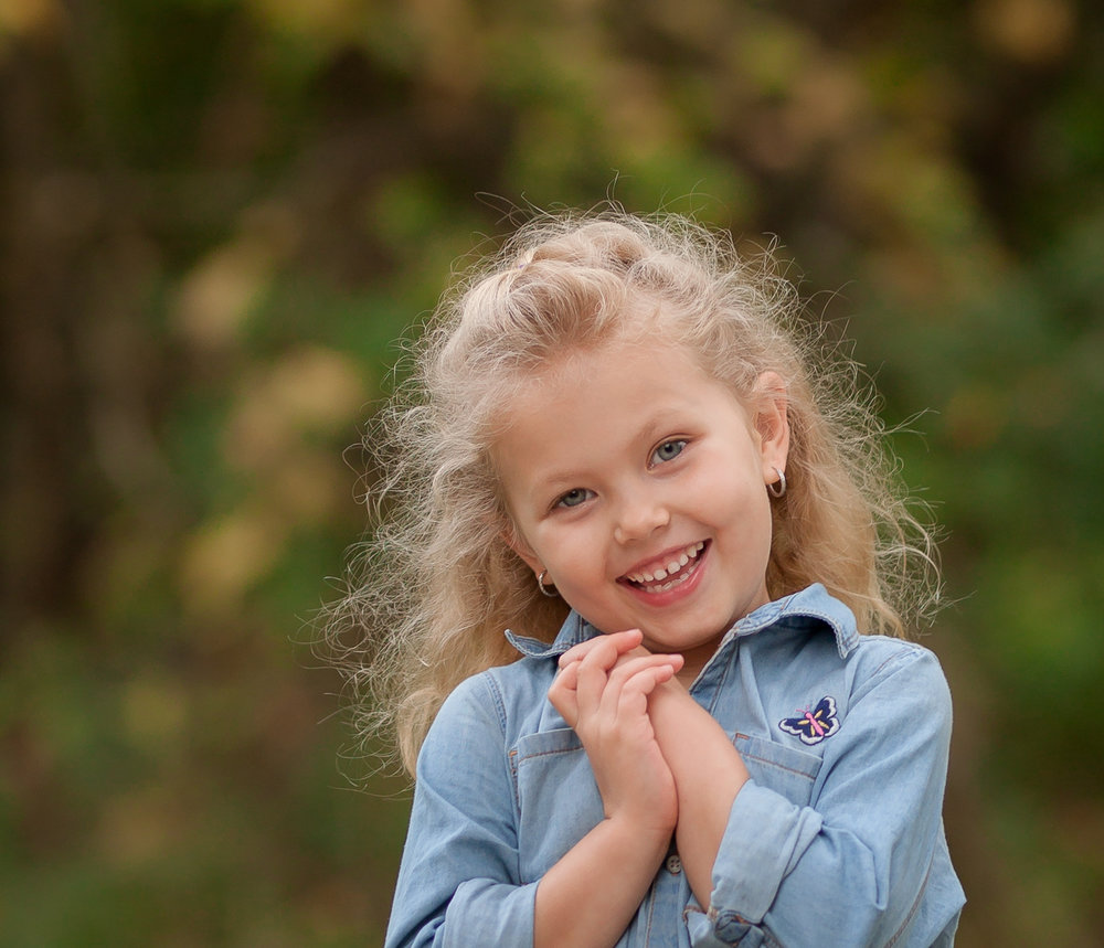 Child Portraits - $125Includes:•Pre-consultation and wardrobe planning•60 minutes on location•Candid and posed•Unlimited images•On-line gallery for 30 days