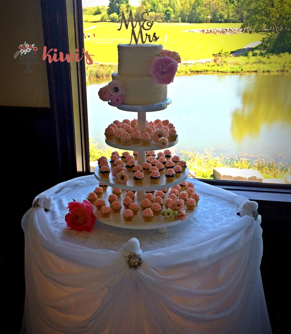 Mini Cupcake Tower