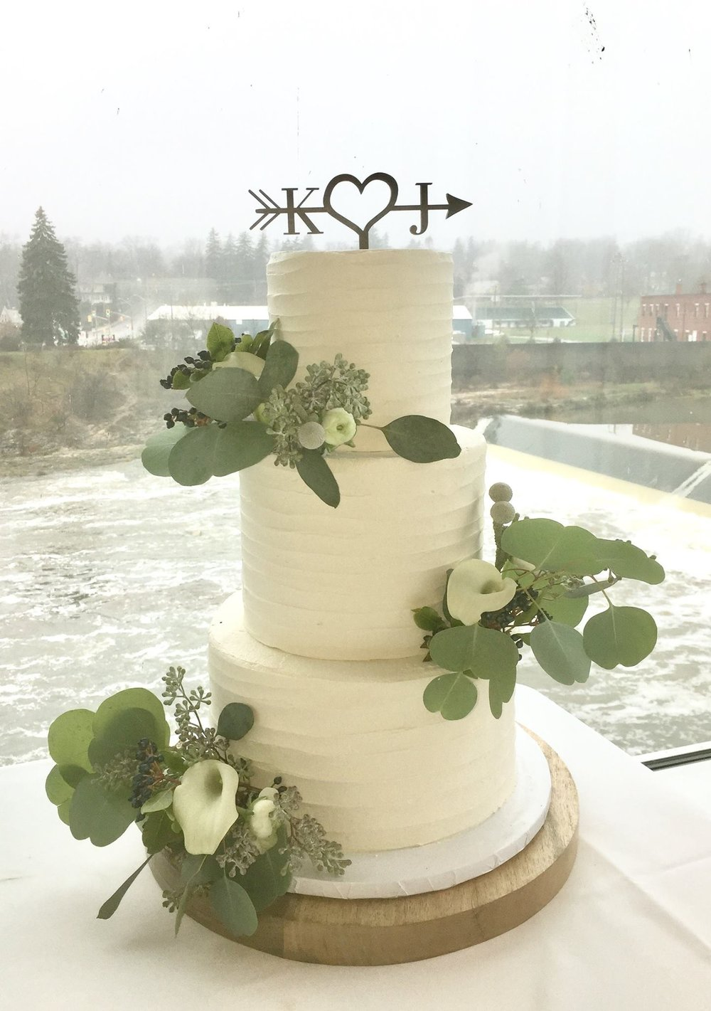Cambridge Mill Wedding Cake