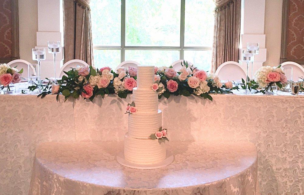Buttercream Wedding Cake Liberty Grand