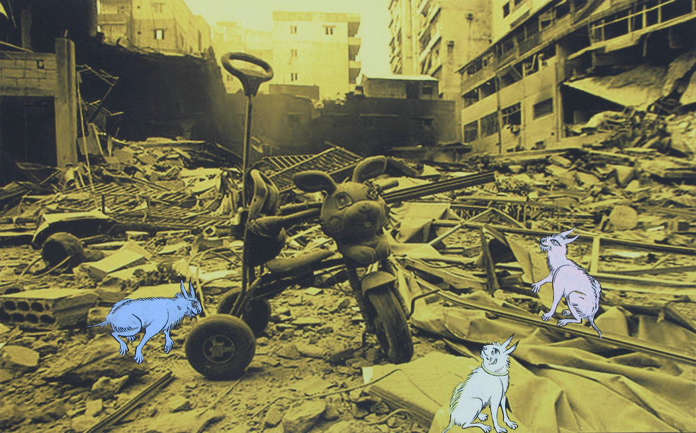 RABBITS IN THE RUBBLE, 2007