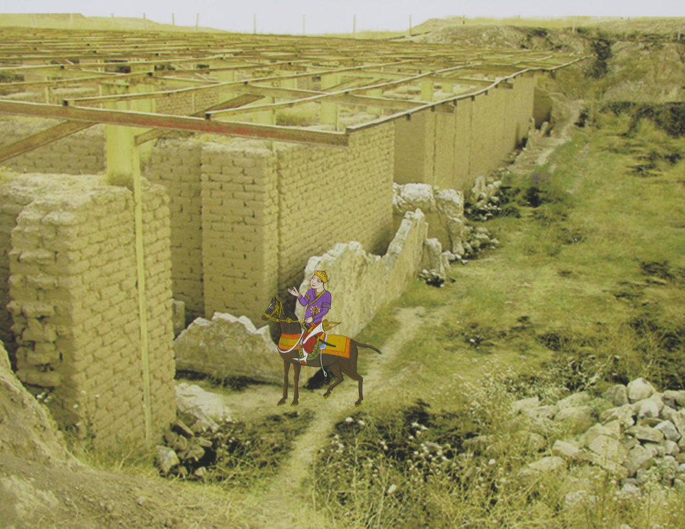 ROMANCING THE RUINS: NINEVEH, 2007