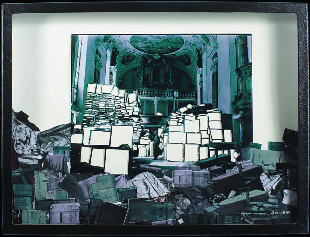 Heide Fasnacht, Collecting Point, Ellingen, 2010