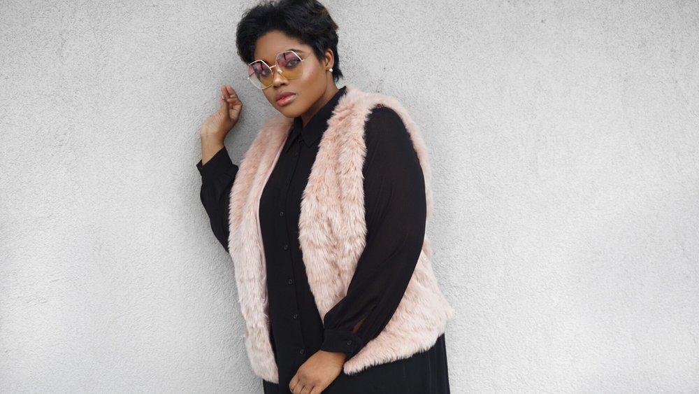 rhonda peterson pink vest
