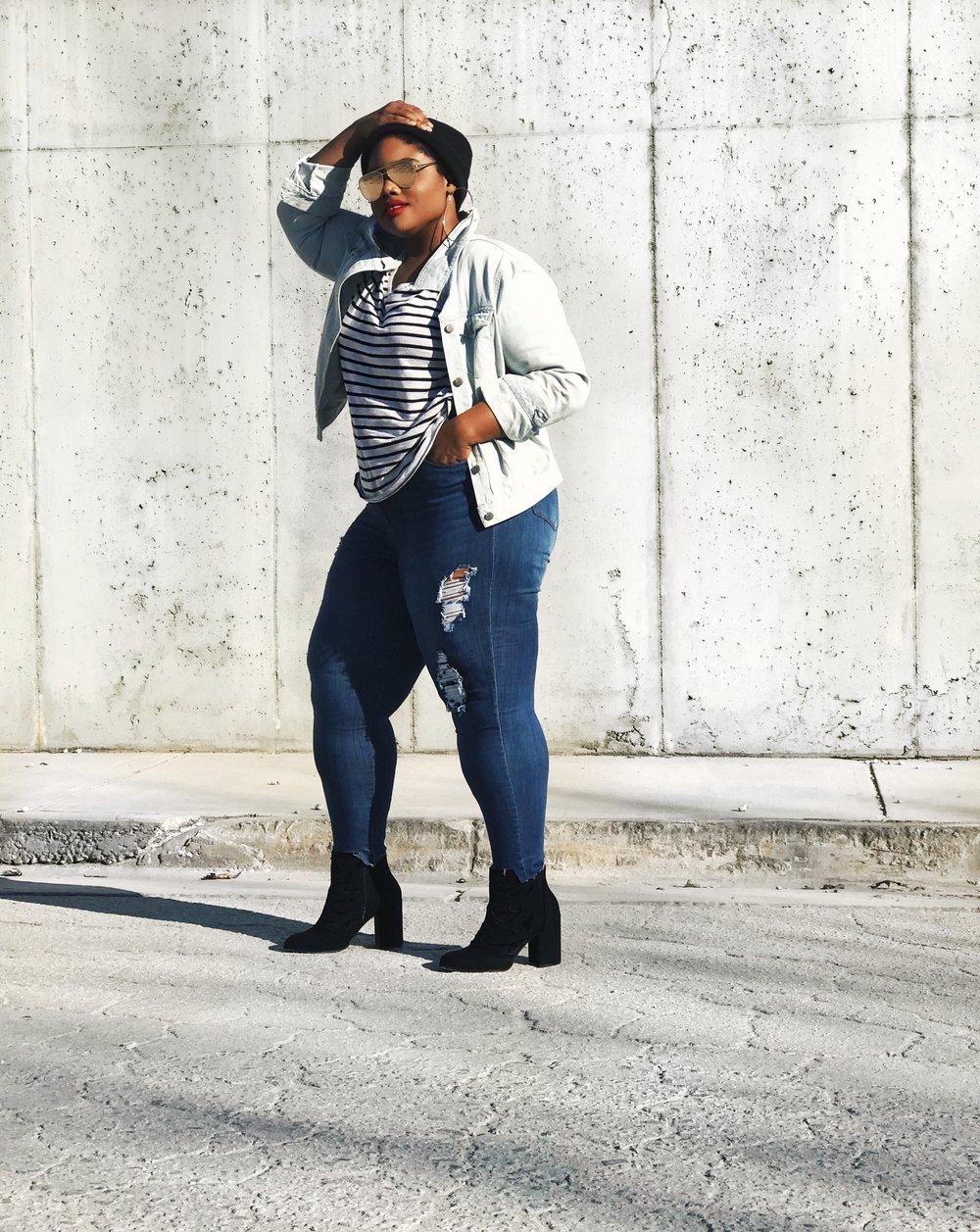 Fashion Nova Curve Plus Size Denim Jeans How Do They Really Fit