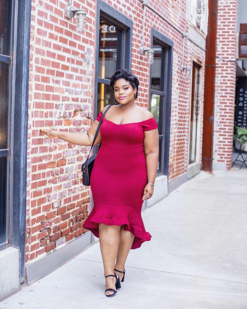 rhonda peterson plus size blogger