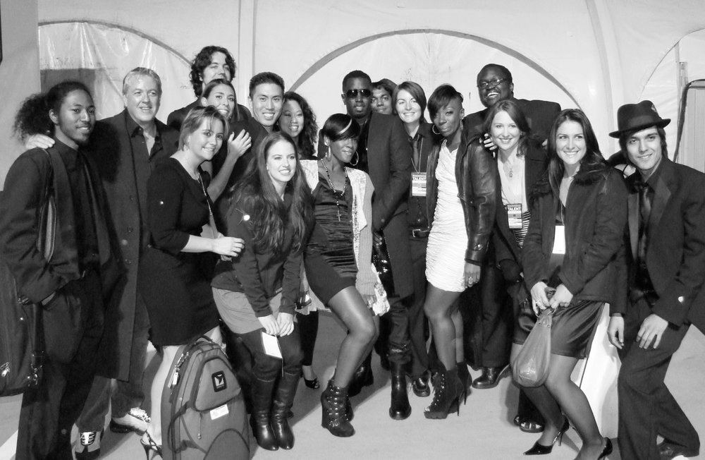 Backstage with P-Diddy & Orchestra
