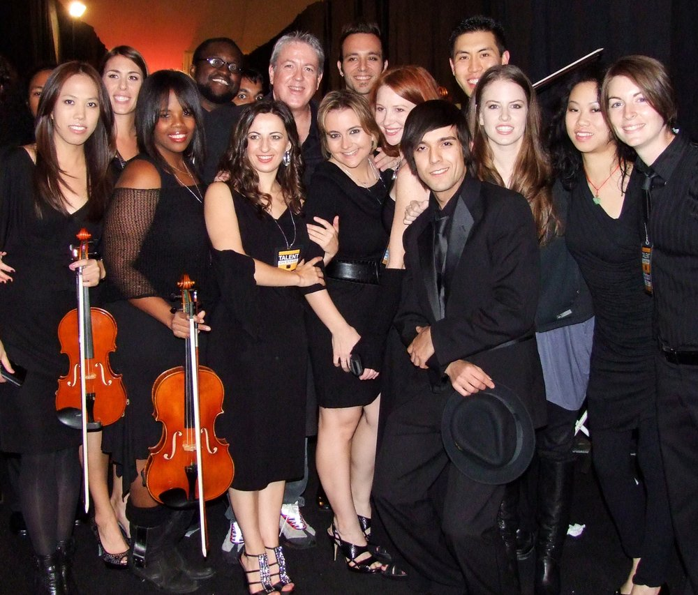 Backstage with AMA Orchestra