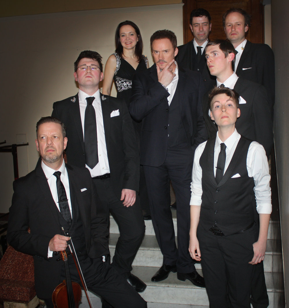 Backstage with Russell Watson & Band