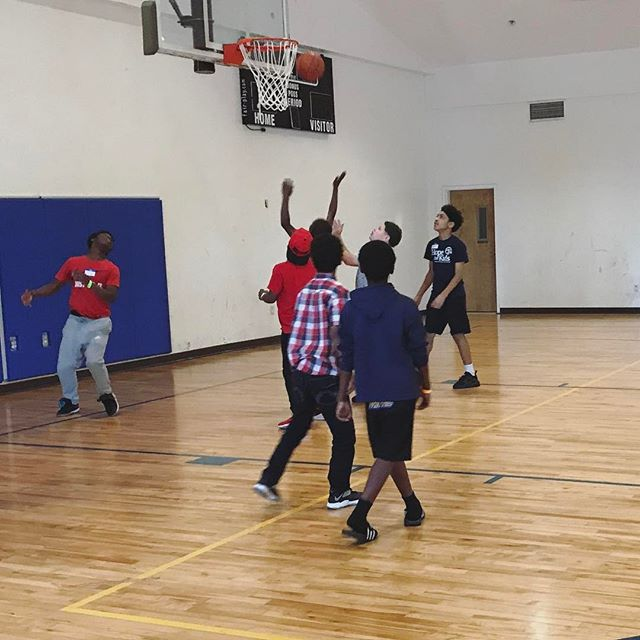 Basketball is always a highlight of events for our Mentor Hope kids!