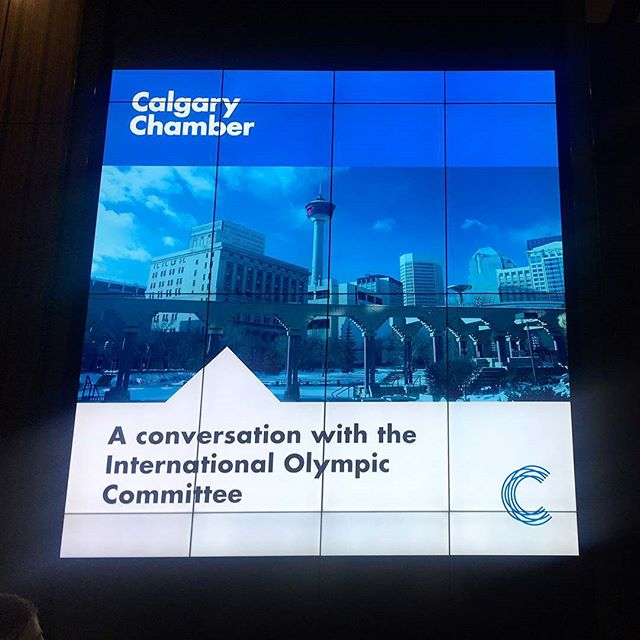 Overheard this morning at The Edison: conversations with the IOC. #calgary2026 #winterolympics