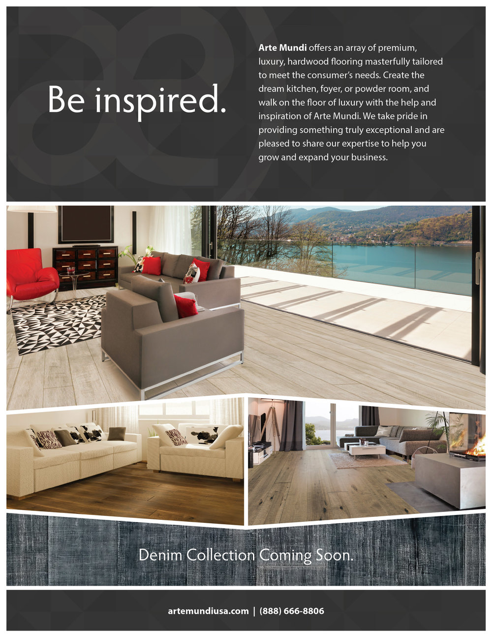 In this month's issue of Floor Covering News, we featured different flooring inspirations for your home.