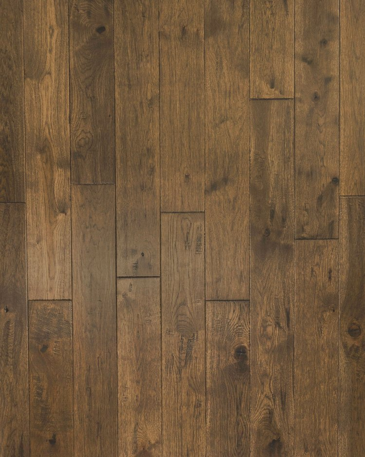 NVHI-72 | Blonde Coffee | Hickory    – Wire brushed, mild hand scraped, natural crevices and mineral streaks