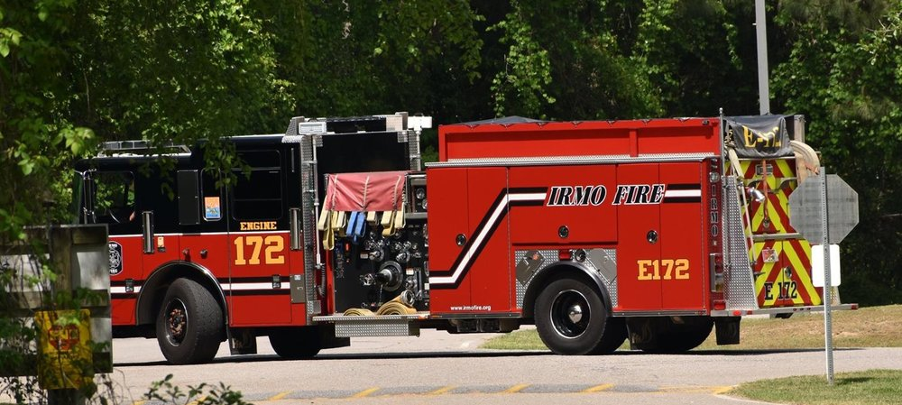 Engine 172 - Engine 172 is a 2012 Ferrara and operates out of our Northlake station. It has a tank capacity of 1,000 gallons and has a Hale pump rated at 1250 GPM.