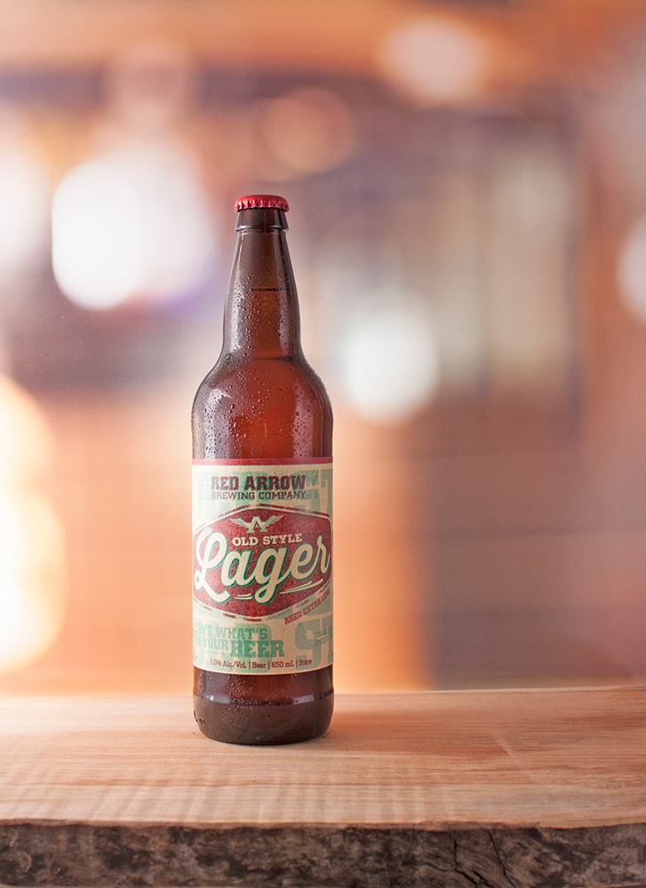 Old Style Lager:  Vibrant gold  |  IBU's: 20  |  ALC: 5%