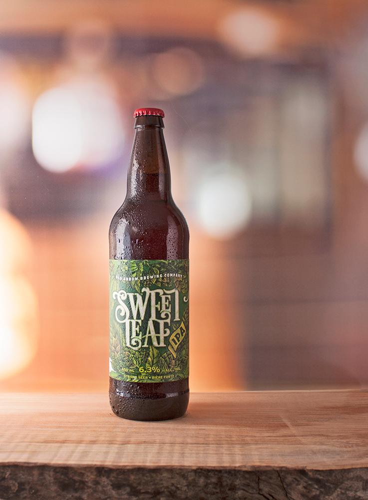 Sweet Leaf IPA: Bright amber |IBU's: 65 | ALC: 6.3%