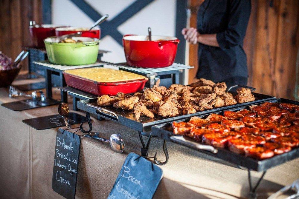 buffet at castle hill.jpg