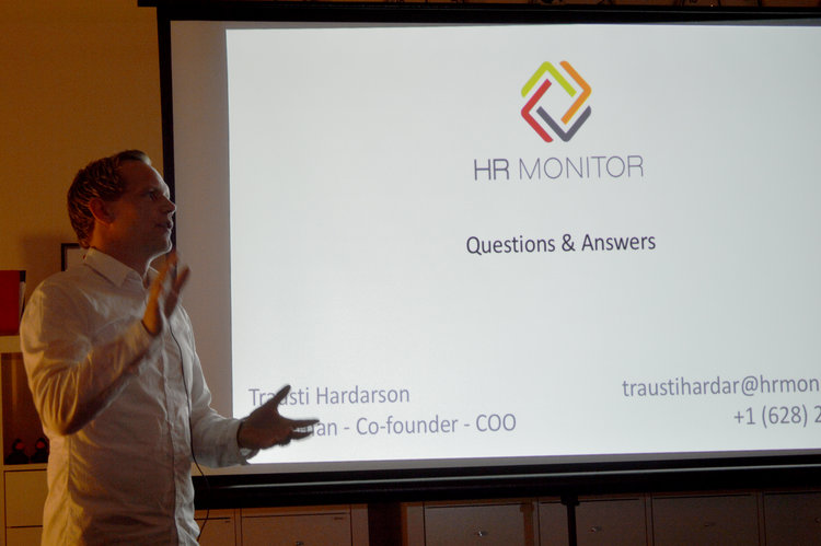 Trausti Hardarson, Chairman and COO HR Monitor