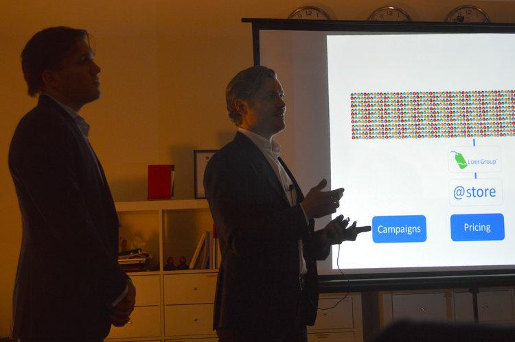 Karl Lillrud and Fredrik Bolander, Founder/CEO and Partner Lizer Group