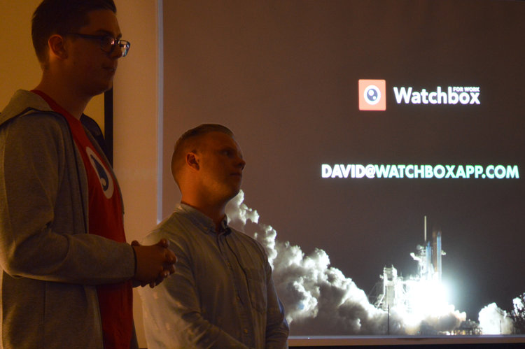 David Simonarson and Kristjan Mikaelsson, Co-founders Watchbo