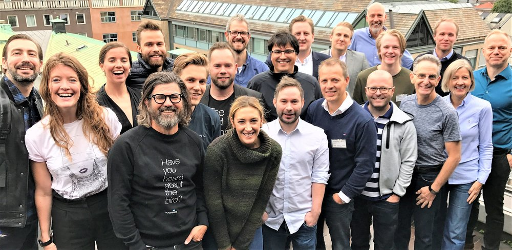 TINC Fall 2017 companies at the September kick-off in Oslo