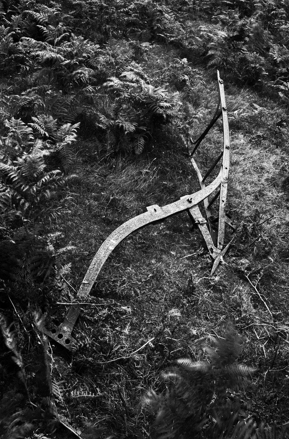 Abandoned plough...