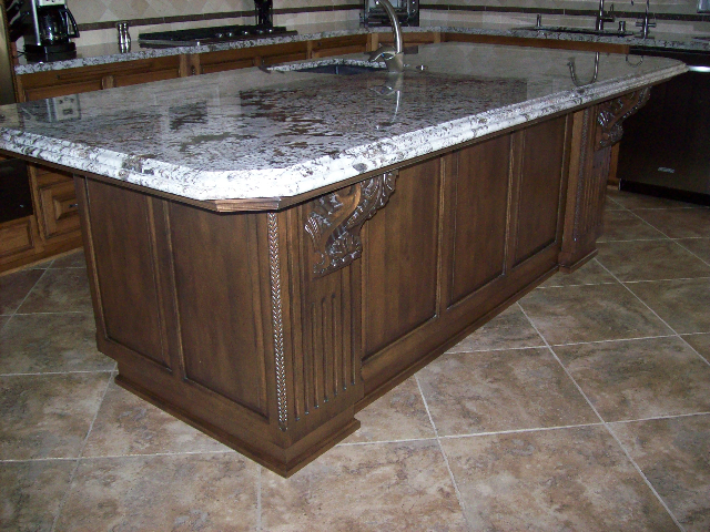 Sill Wood Design Kitchen Island