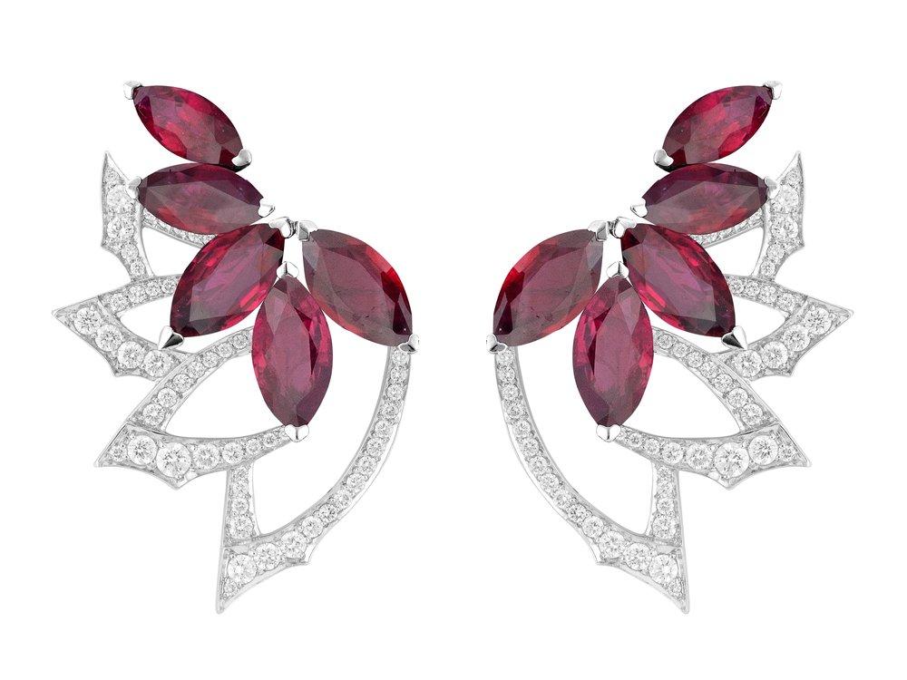 Stephen Webster Earring featuring Gemfields Mozambican rubies.jpg