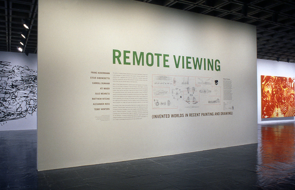 Group Exhibit - Remote Viewing