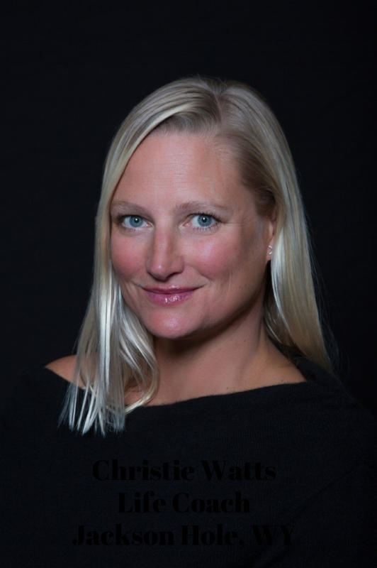 Christie Watts life coaching is located in Jackson, WY, but she conducts session globally.
