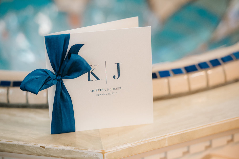 custom wedding planners michigan event design paper goods florals nautical mackinac island programs