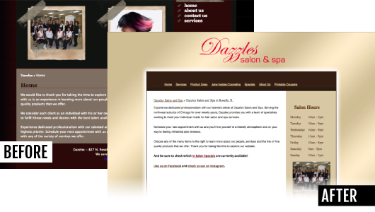 Website Consultation Example