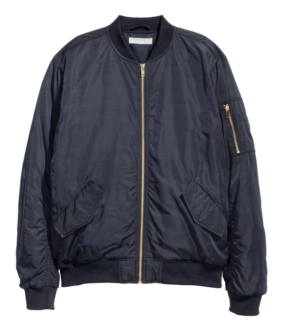 H&M Oversized Bomber Jacket