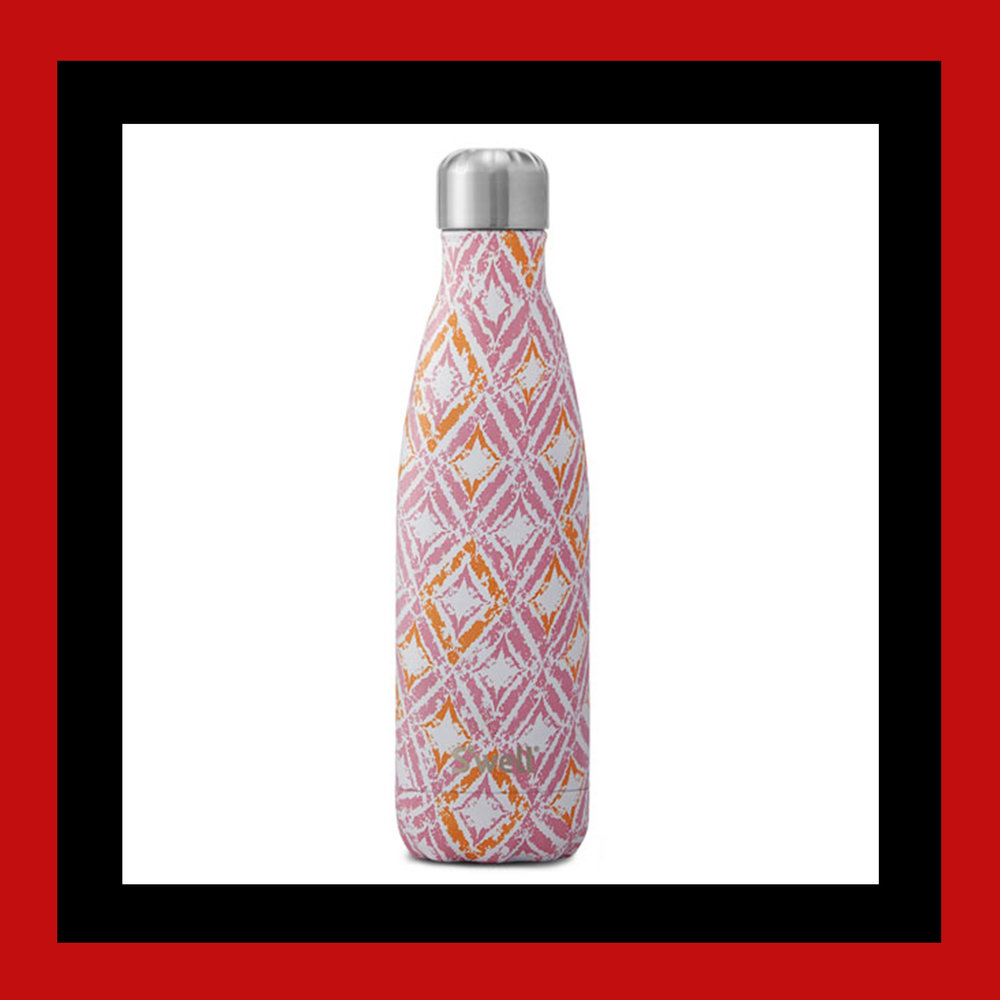 S'well Odisha Ikat-Print Water Bottle