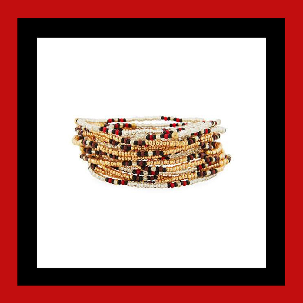 Neiman Marcus On the Bead Beaded Bracelet