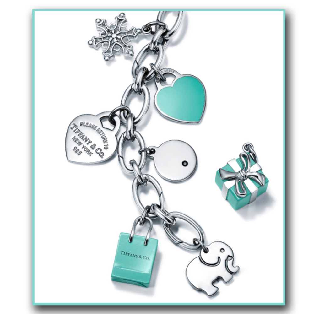 Charms from Tiffany & Co.