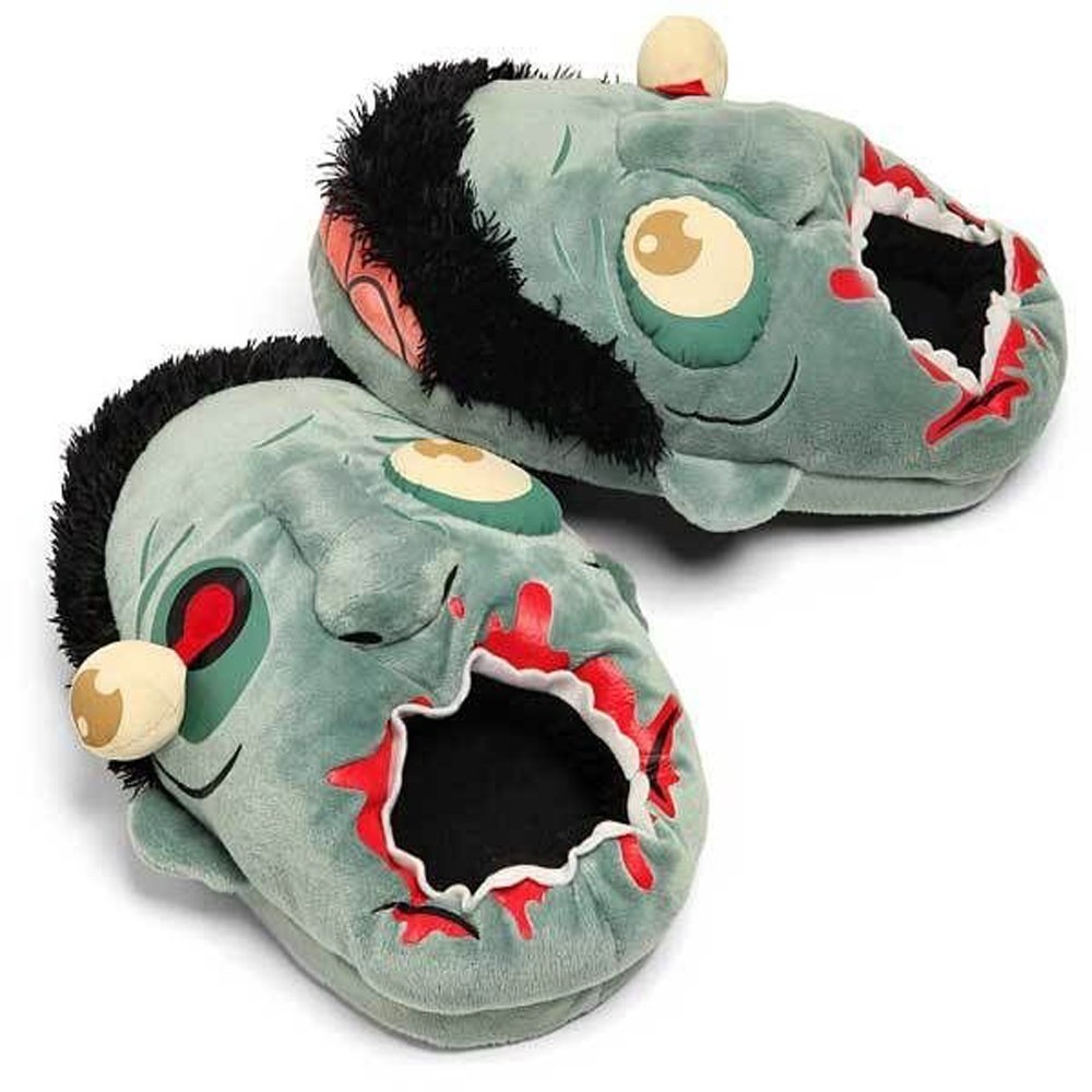 $22 - Plush Zombie Slippers