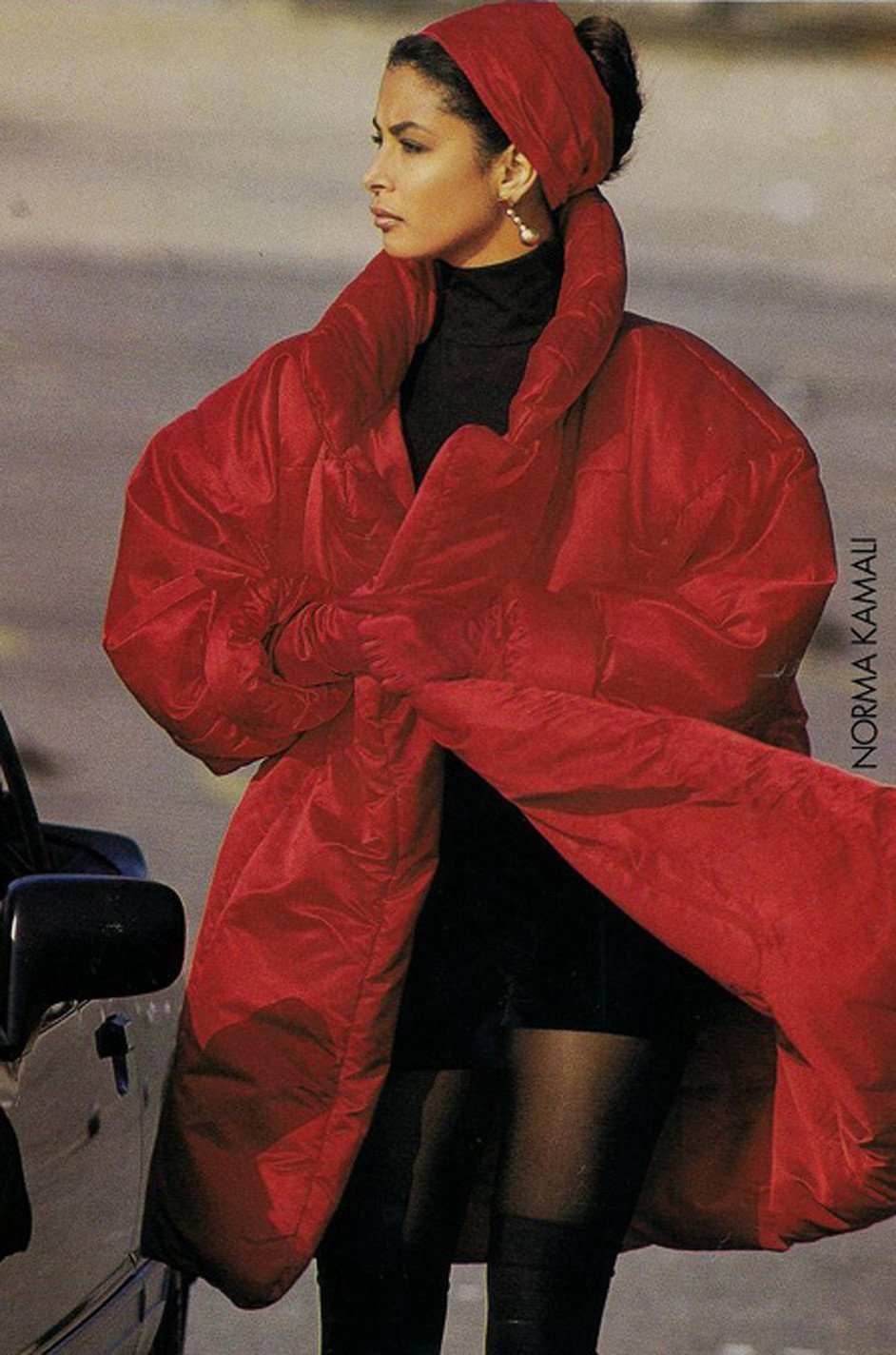 Norma Kamali's Sleeping Bag Coat