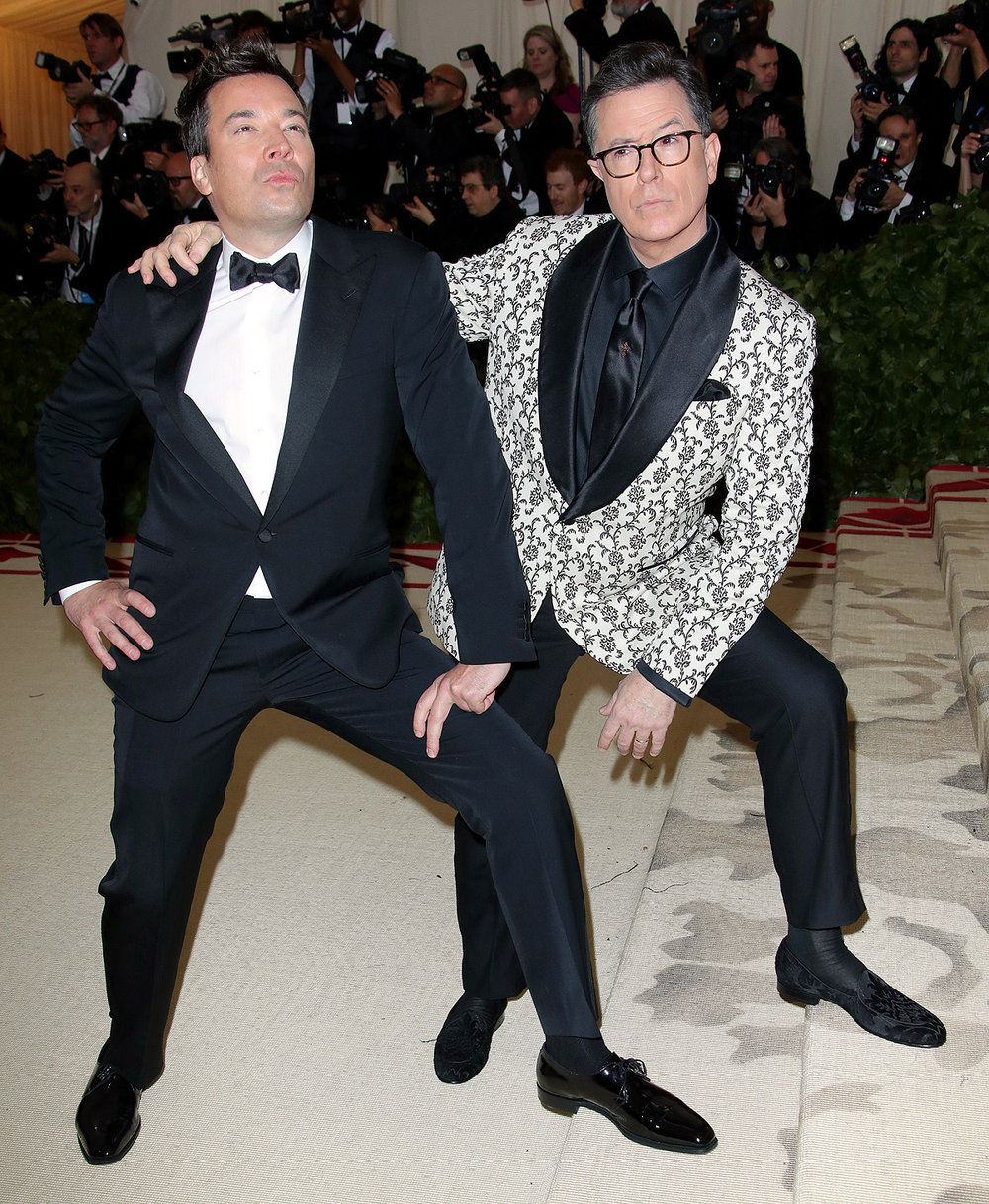 99. JIMMY FALLON & STEPHEN COLBERT