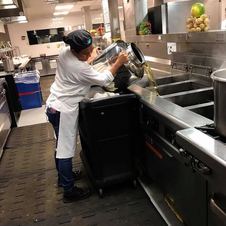 Twitter partners with Eco Refill Systems for fresh, green alternative cooking oil.