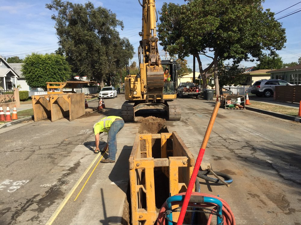 Replacement Sewer Line - Orange, CA
