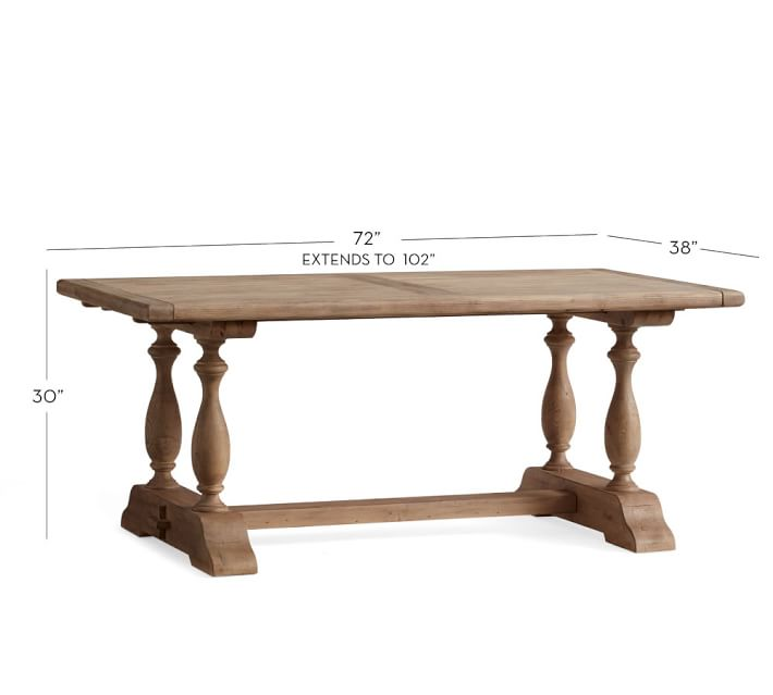 Pottery Barn Parkmore Table