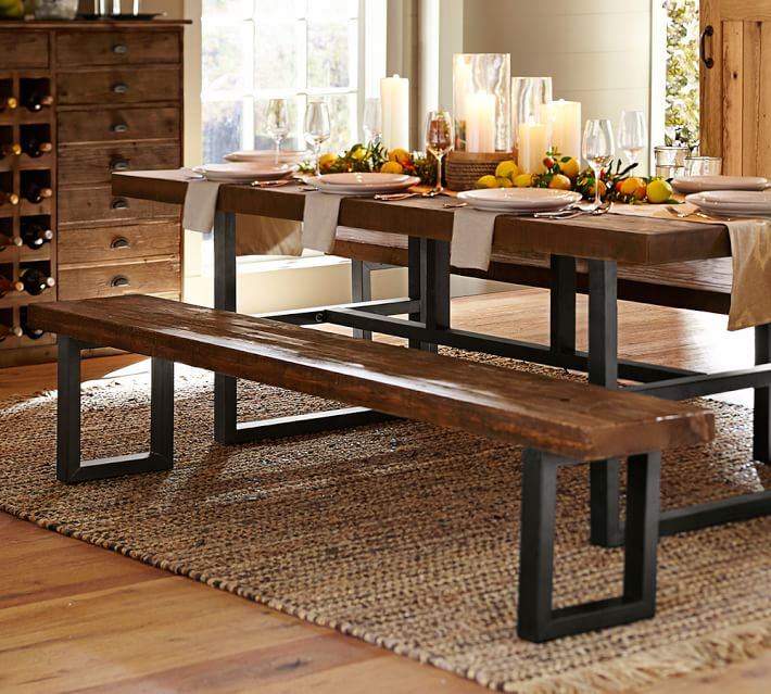 Pottery Barn Griffin Bench- for one side of the table